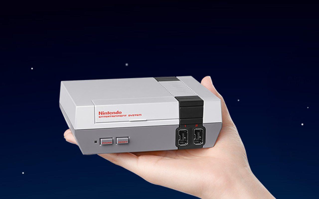 Así lucirá el nuevo NES.