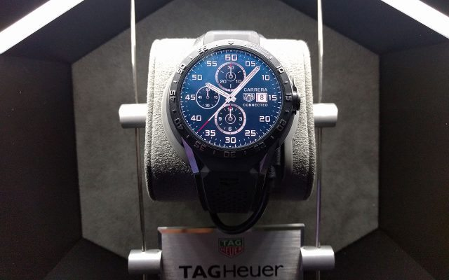 Connected, el primer smartwatch de TAG Heuer. (Foto: Staff.)