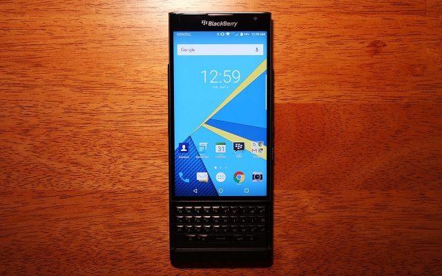 BB PRIV, Android y un teclado físico, las apuestas. (Foto: Staff.)