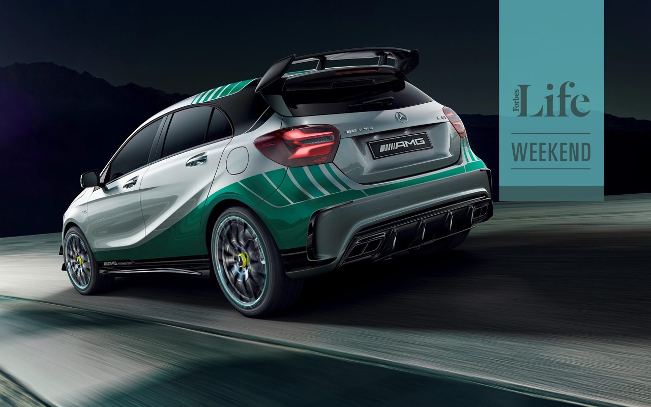 El mercedes benz que celebra el xito de la f1 forbes m xico for Mercedes benz mx