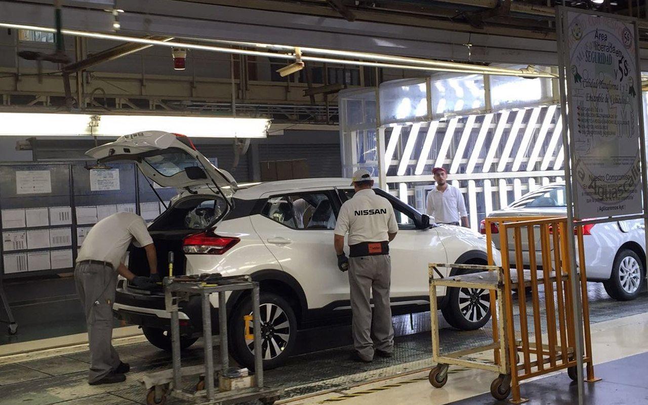 Nissan invierte 250 mdd en producción de crossover Kicks en Aguascalientes