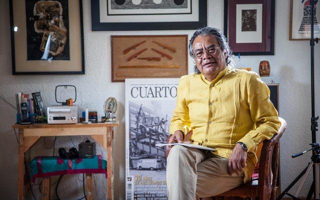 Pedro Valtierra (Foto: Julio Hernández)