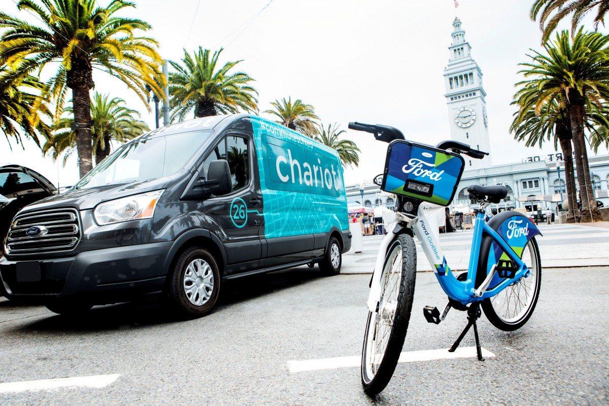 Ford entra a la economía compartida con minivans y bicicletas
