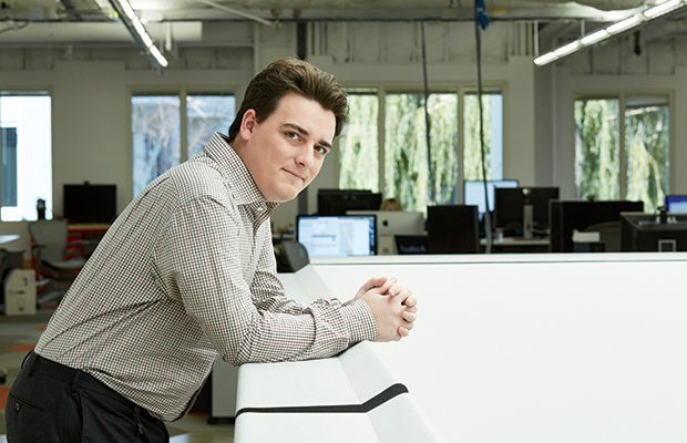Palmer Luckey, creador del Oculus Rift (Foto: Gabriela Hasbun)