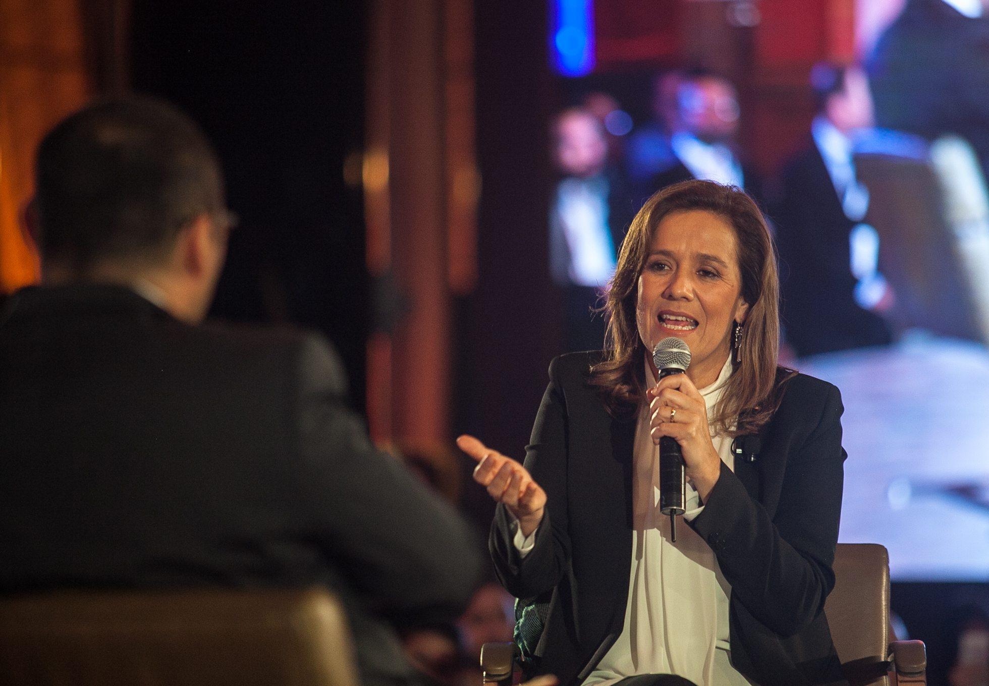 La corrupción es el verdadero muro donde nos estrellaremos: Margarita Zavala