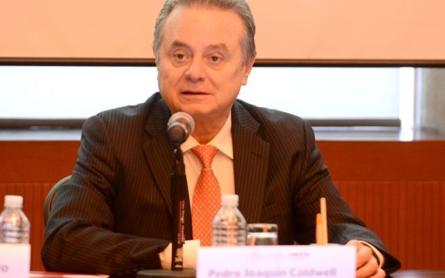 El secretario de Energía, Pedro Joaquín Coldwell (Foto: Sener)