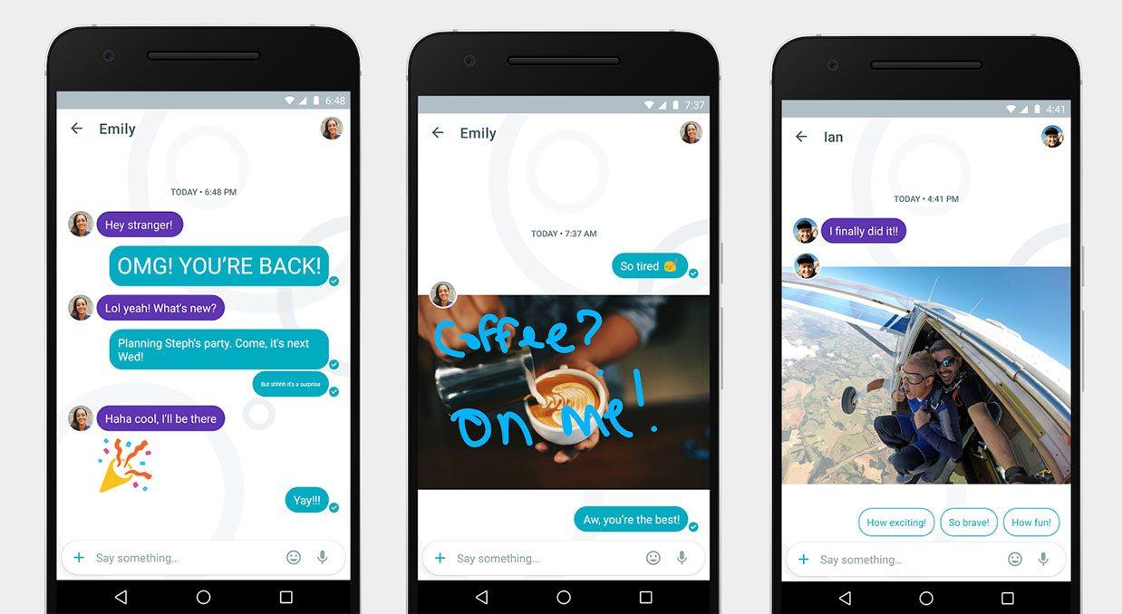 Google lanza Allo para competir con WhatsApp y Facebook Messenger