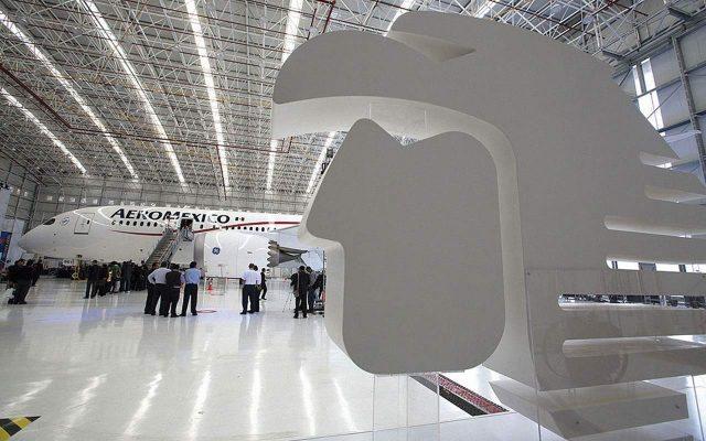 Aeroméxico. (Foto: Cortesía.)
