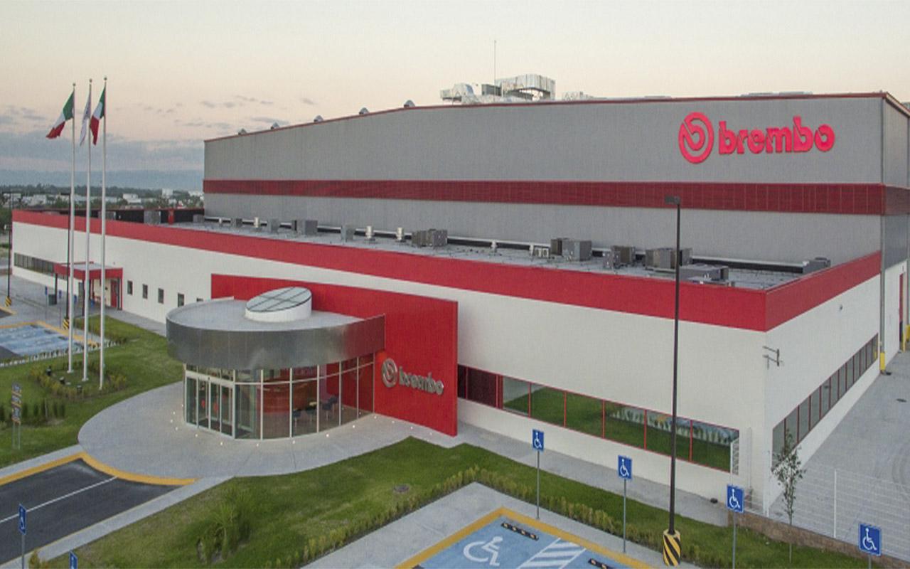 Italiana Brembo anuncia inversión de 93 mdd para nueva planta en NL