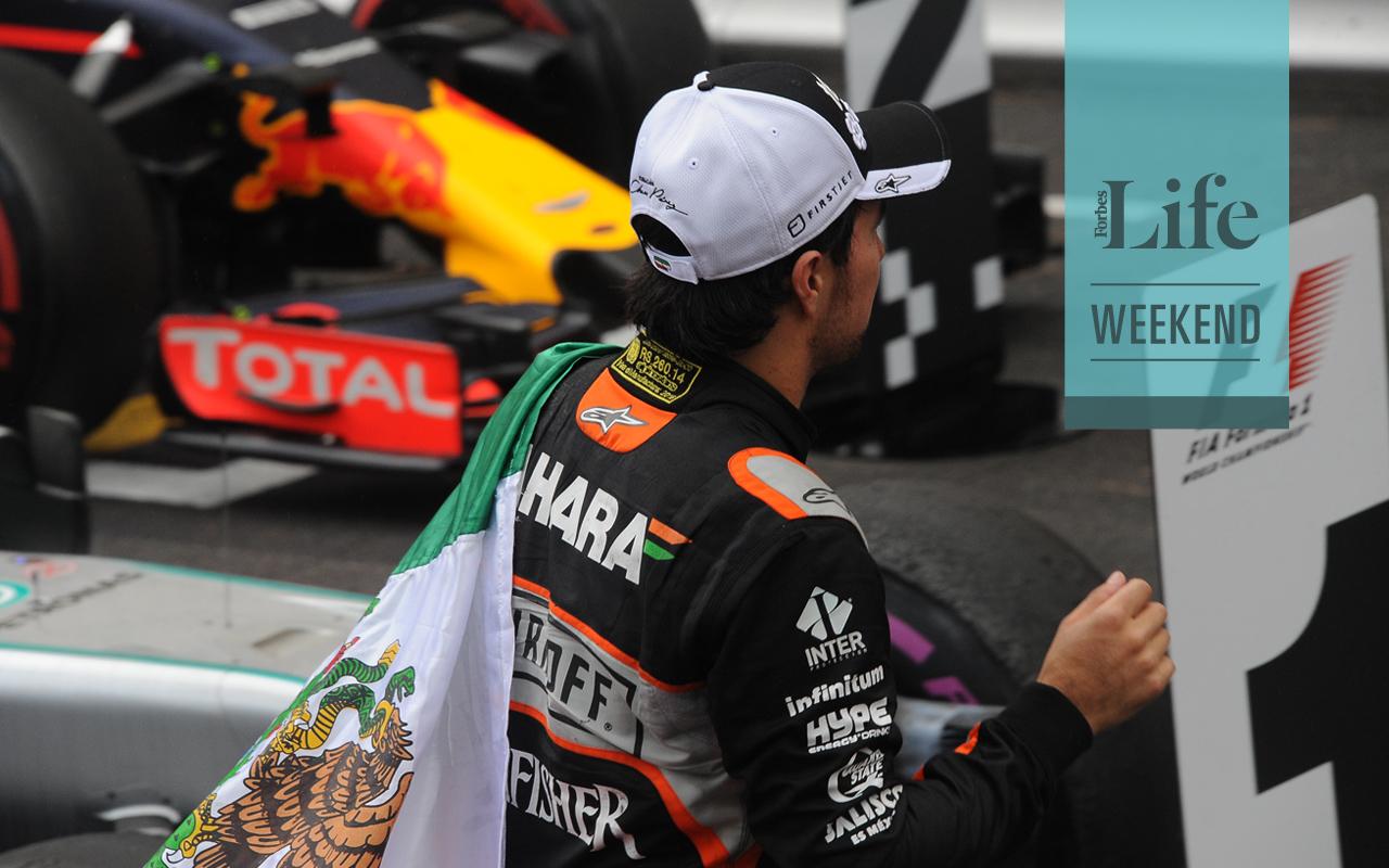Checo Pérez, camino al Gran Premio de México