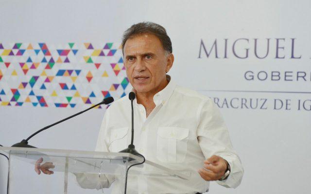 Congreso de Veracruz recibe solicitud de licencia de Duarte