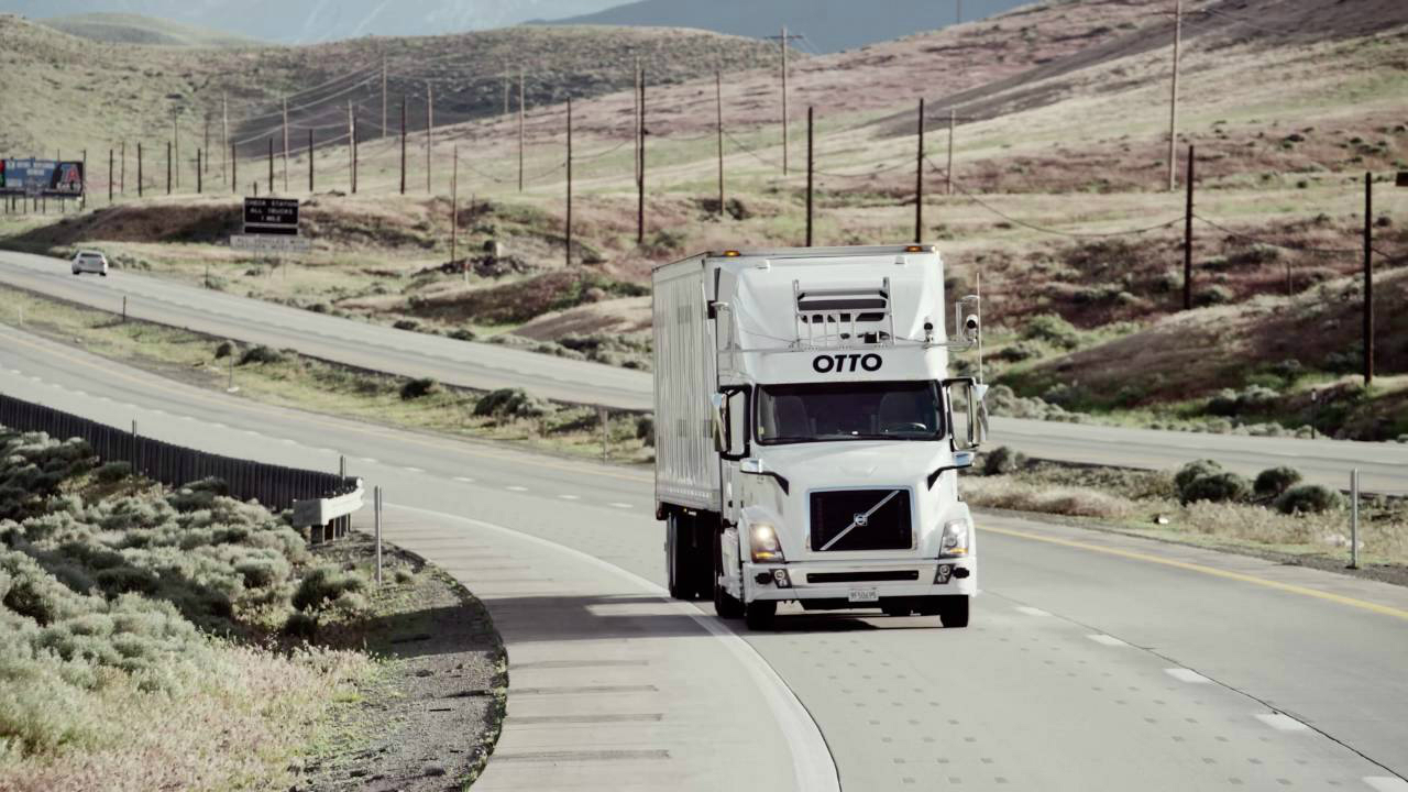 Otto, el camión autónomo de Uber hizo su primera entrega de cervezas