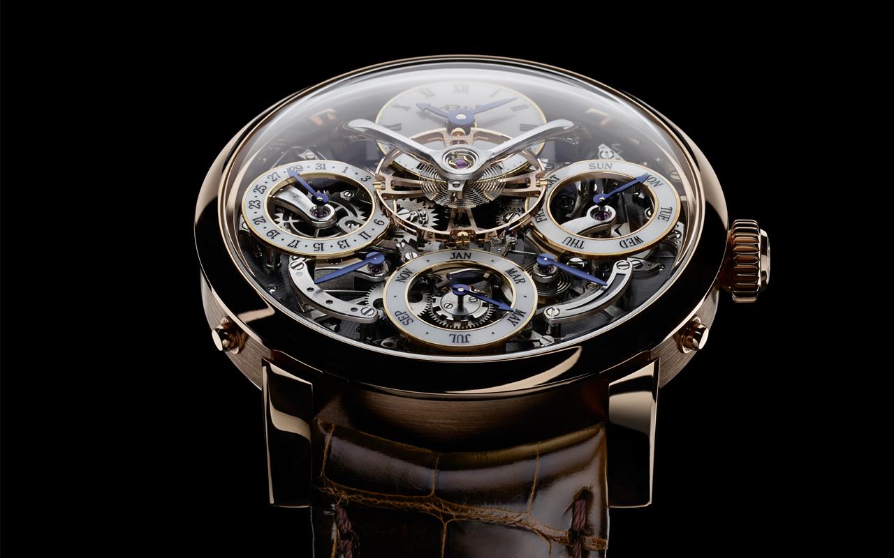 5 relojes para millonarios que destacaron en el SIAR