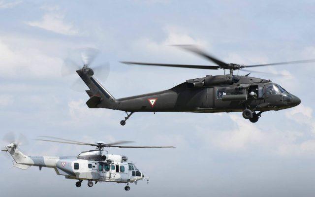 Se desploma helicóptero de Sedena; mueren dos