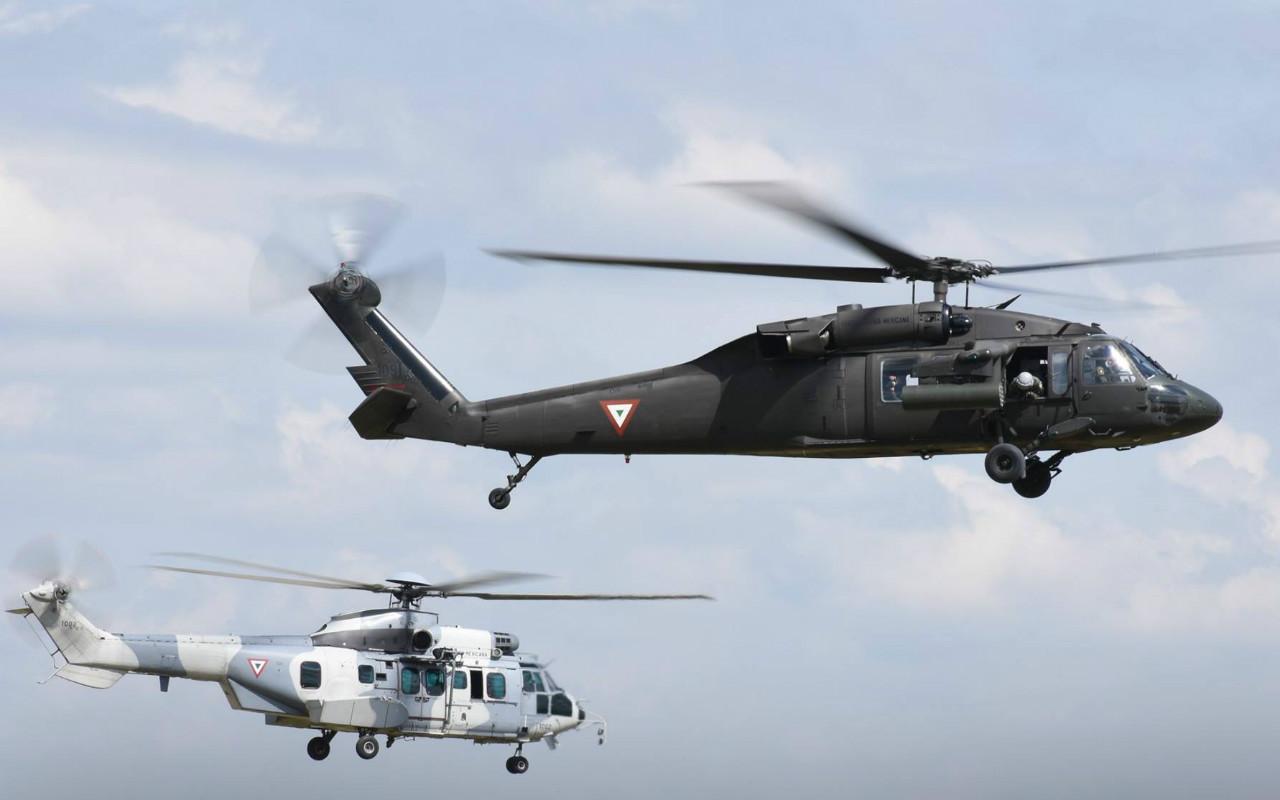 Cae helicóptero con militares en Tamaulipas