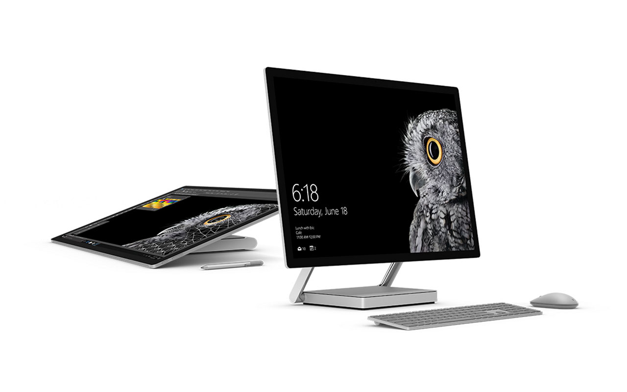 Ésta es la Surface Studio, la primera PC fabricada por Microsoft