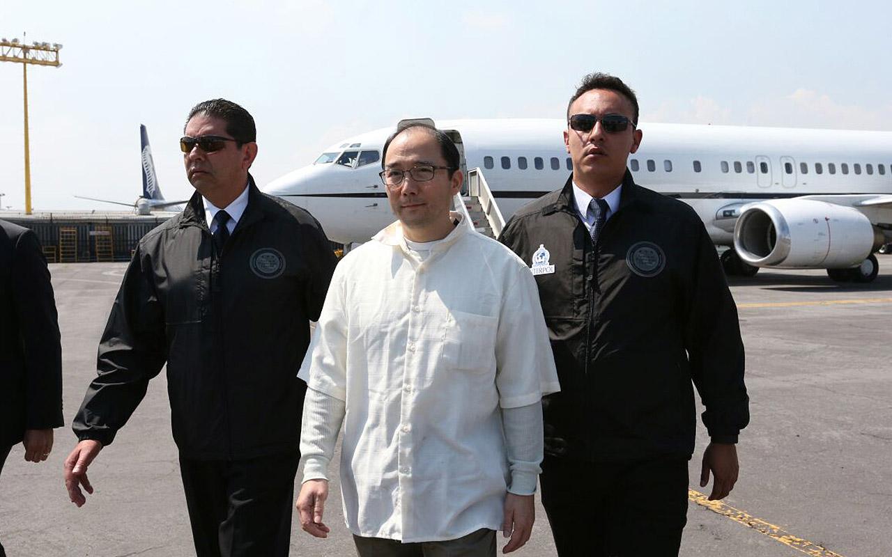 Estados Unidos entrega a Zhenli Ye Gon a México