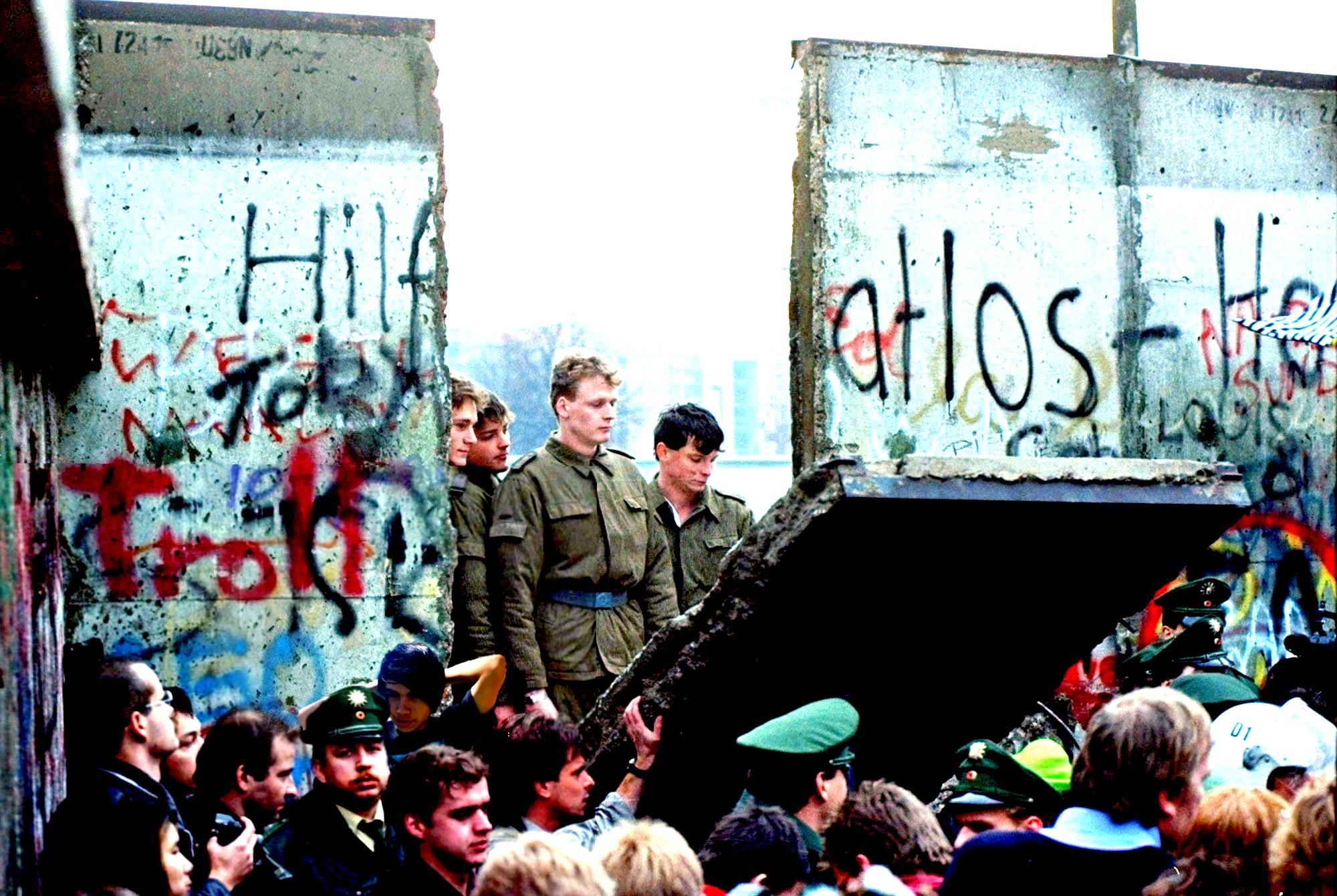 Caída del muro de Berlín cumple 27 años