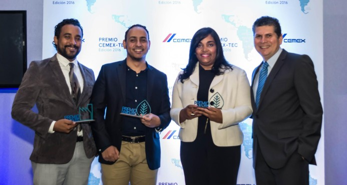 Emprendimiento dominicano sobresale en premios Cemex-Tec