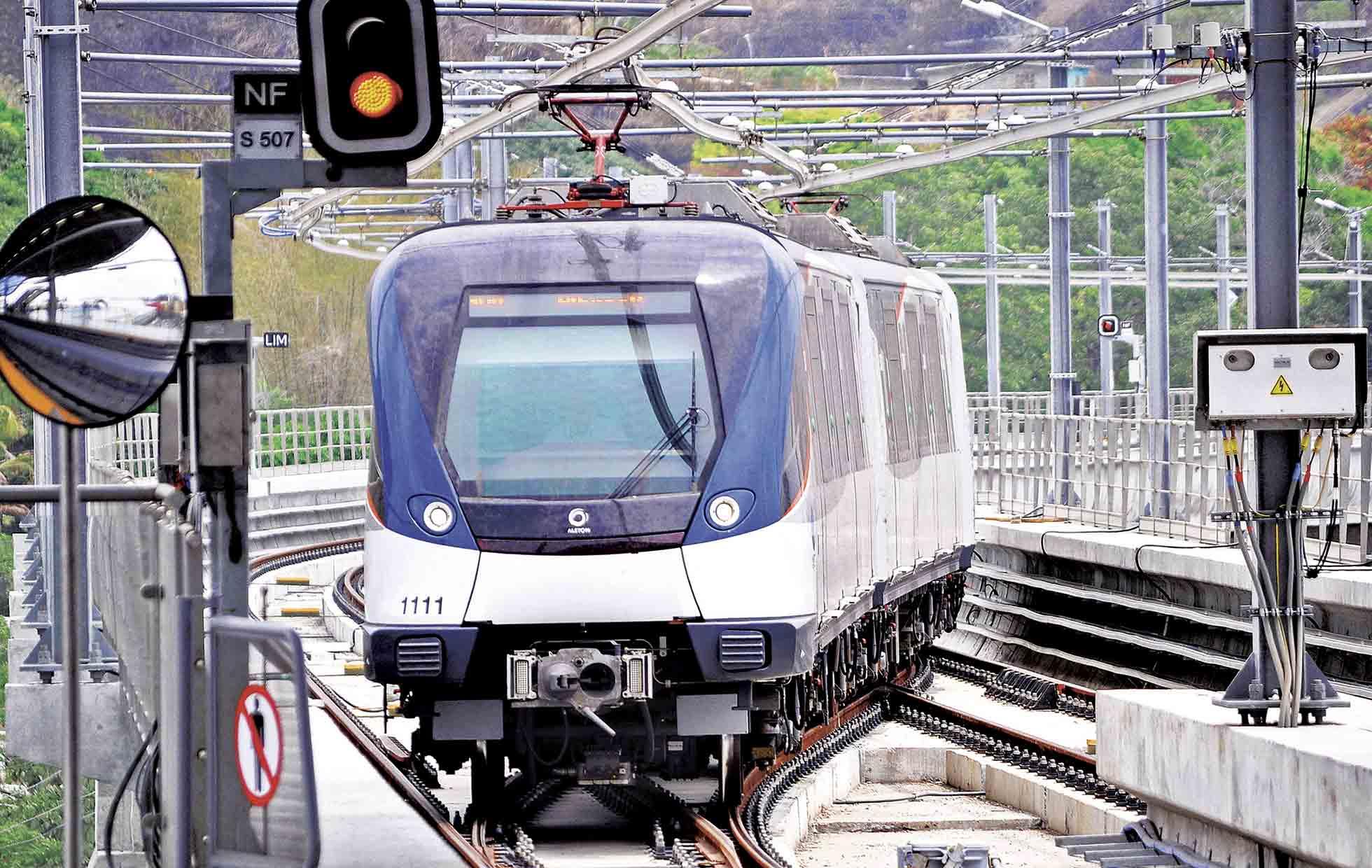 Línea dos del Metro de Panamá tiene avance de 33%