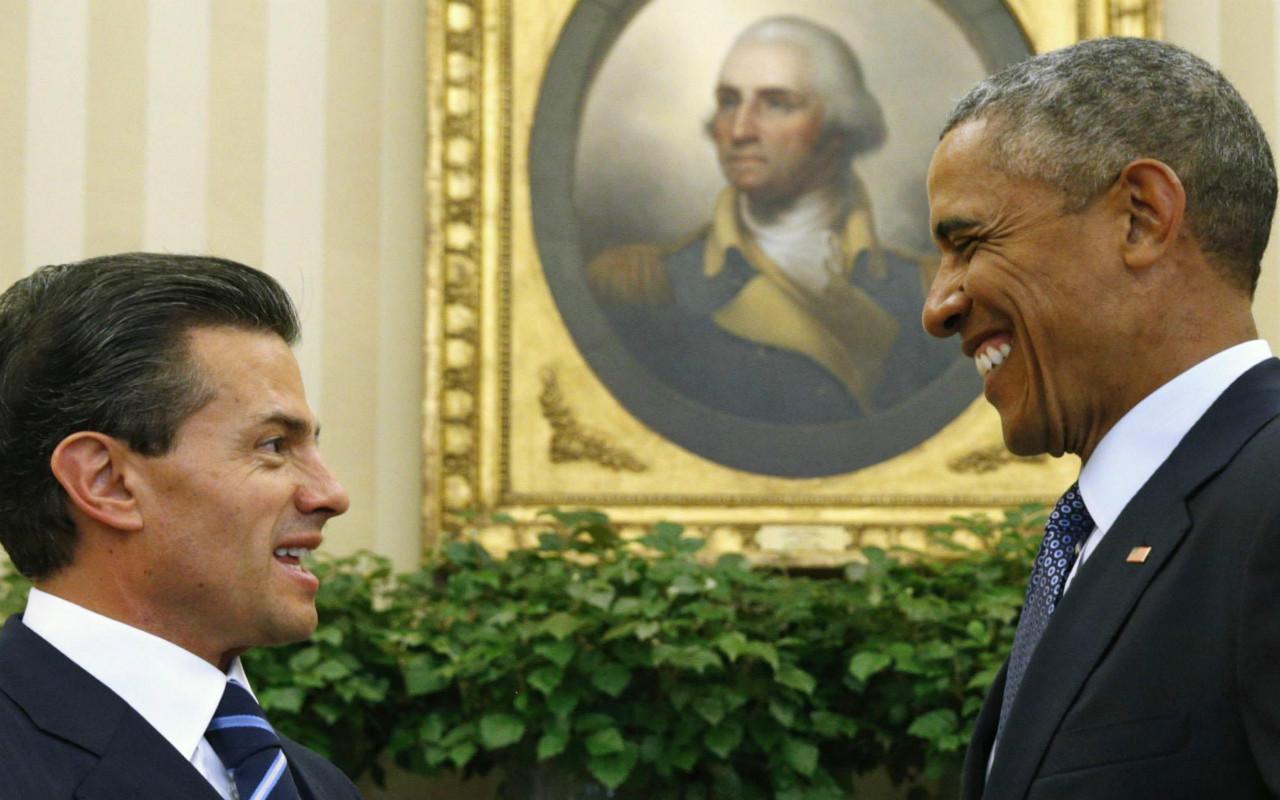 Peña Nieto y Obama hablan de la necesidad de hacer perdurar los acuerdos