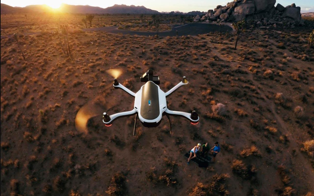 GoPro sigue en caída libre: retira su nuevo drone Karma