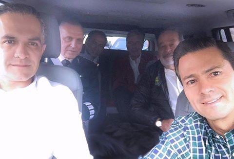 El día que el presidente le dio 'ride' a Carlos Slim