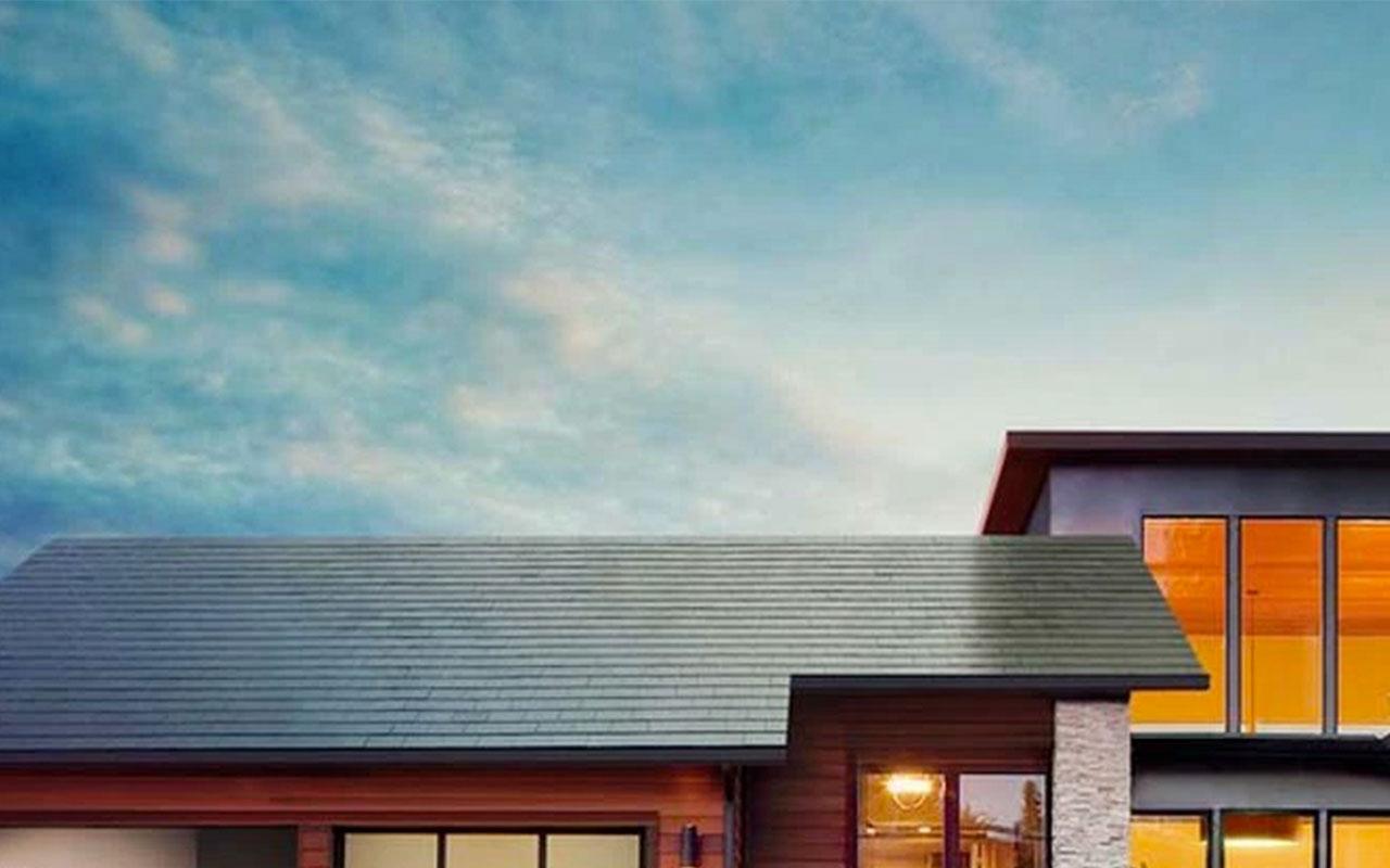 Tesla crea paneles solares que toman el lugar de techos
