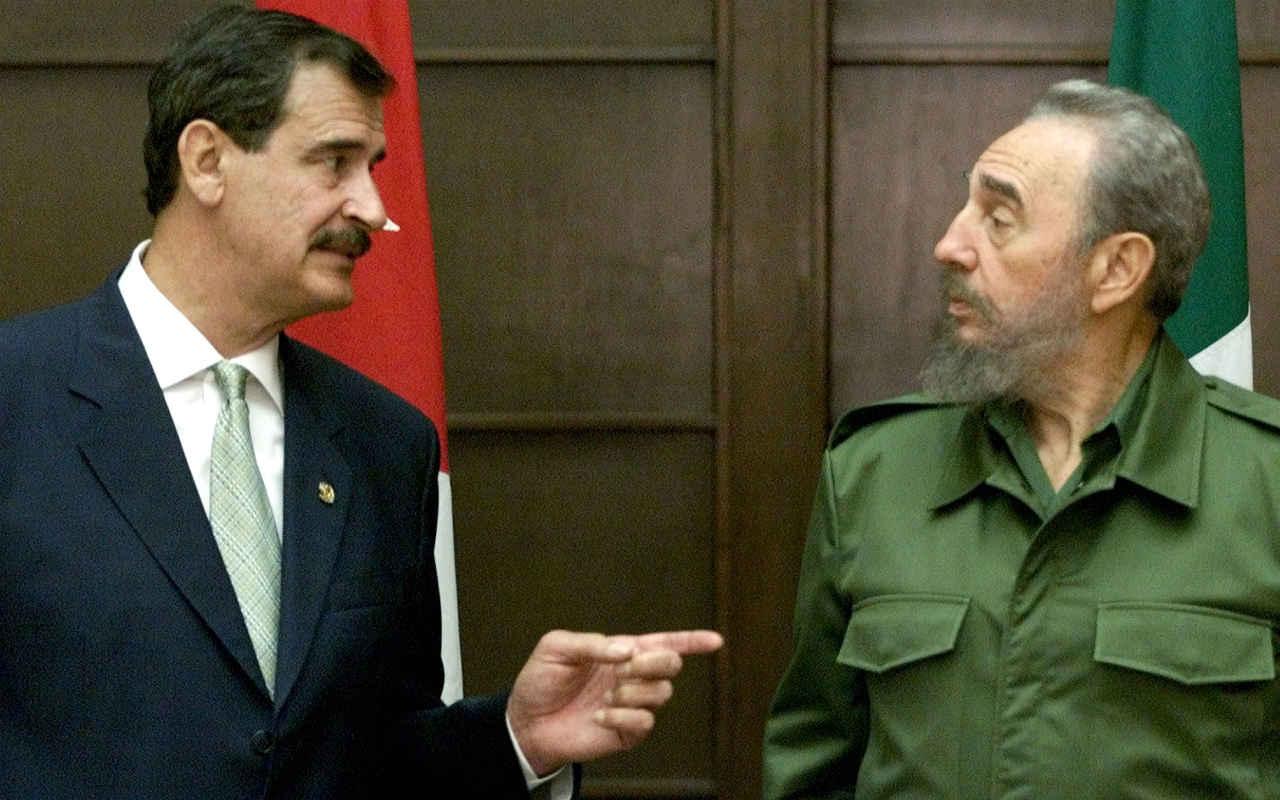 "Fox no asistirá a funerales de Fidel Castro; ""no me inspira"", afirma"