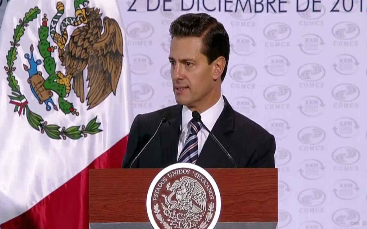 México apuesta a modernizar el TLCAN si resulta ganador: Peña Nieto