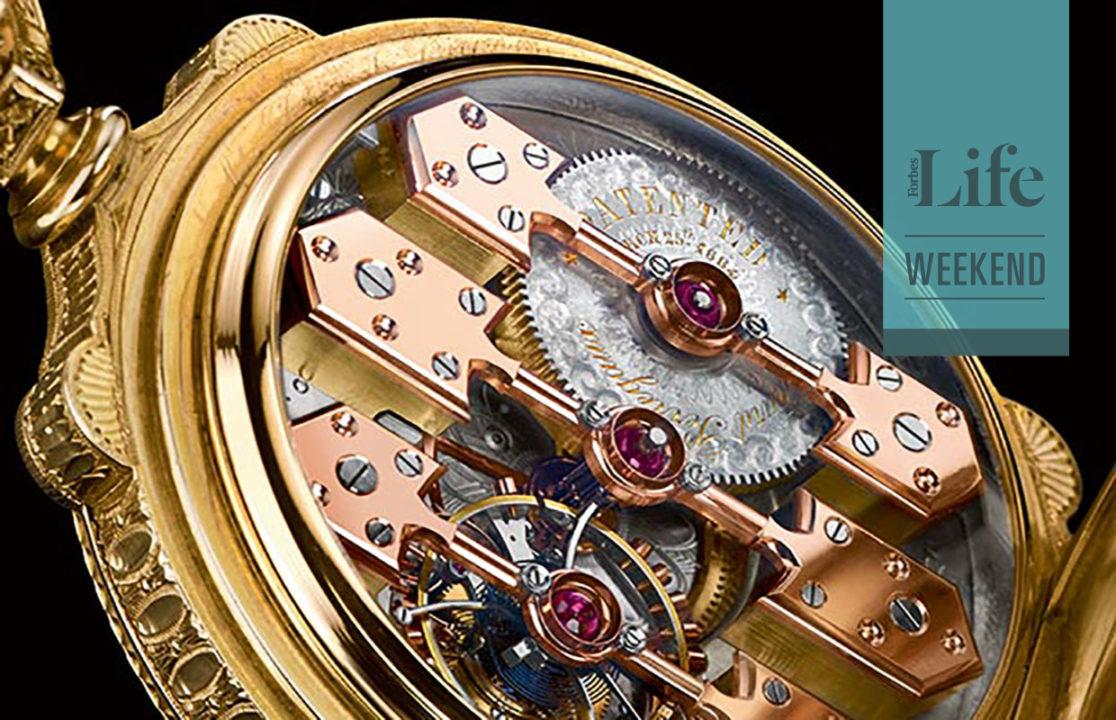 La Esmeralda: un reloj hecho de historia