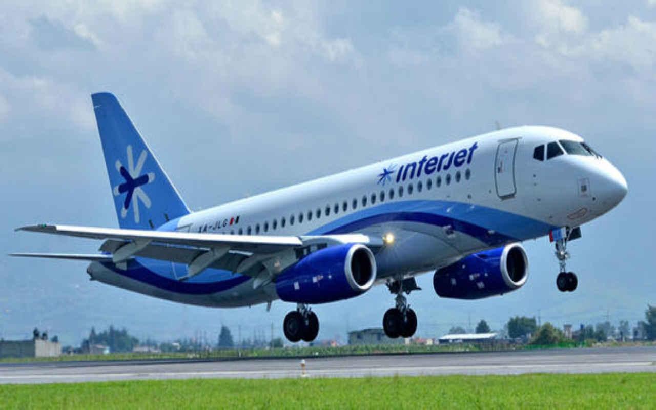Nuevas rutas internacionales impulsan tráfico de pasajeros de Interjet