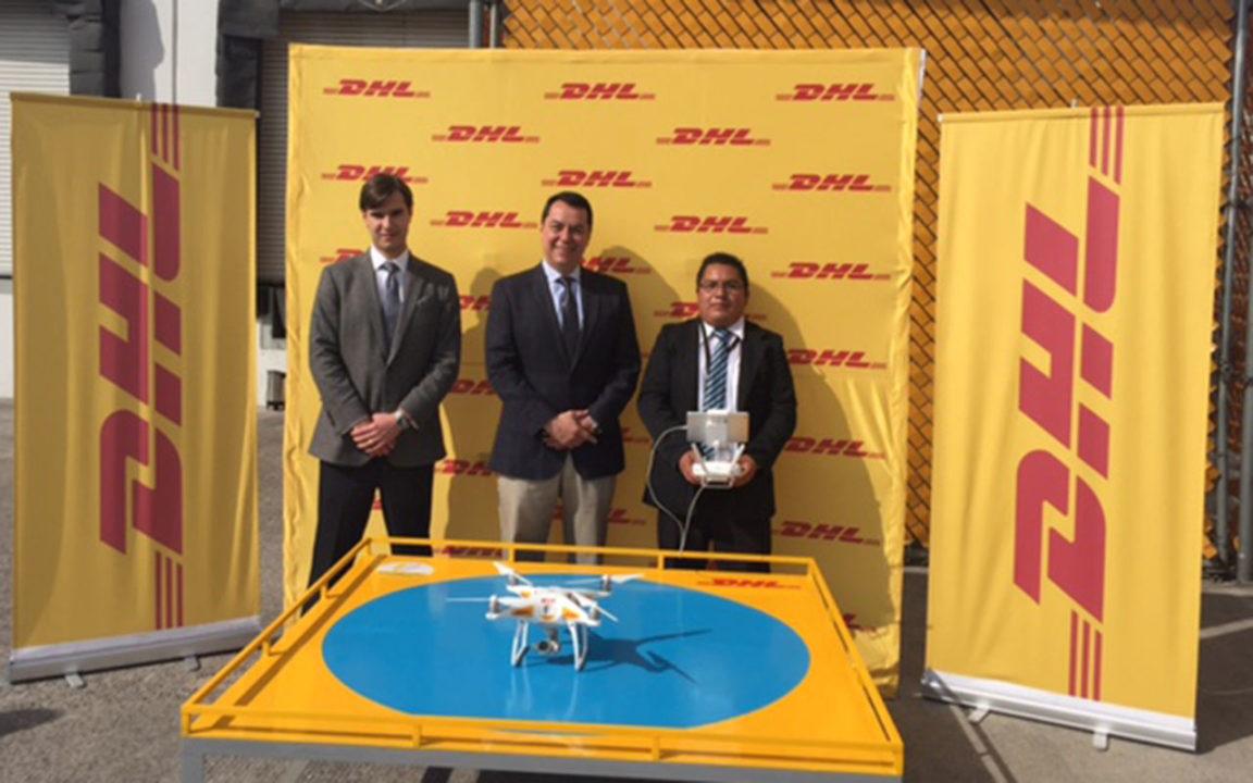 DHL usará drones para vigilar todos sus centros de distribución