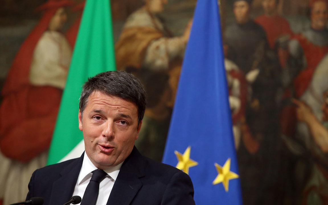 Matteo Renzi renuncia como primer ministro de Italia