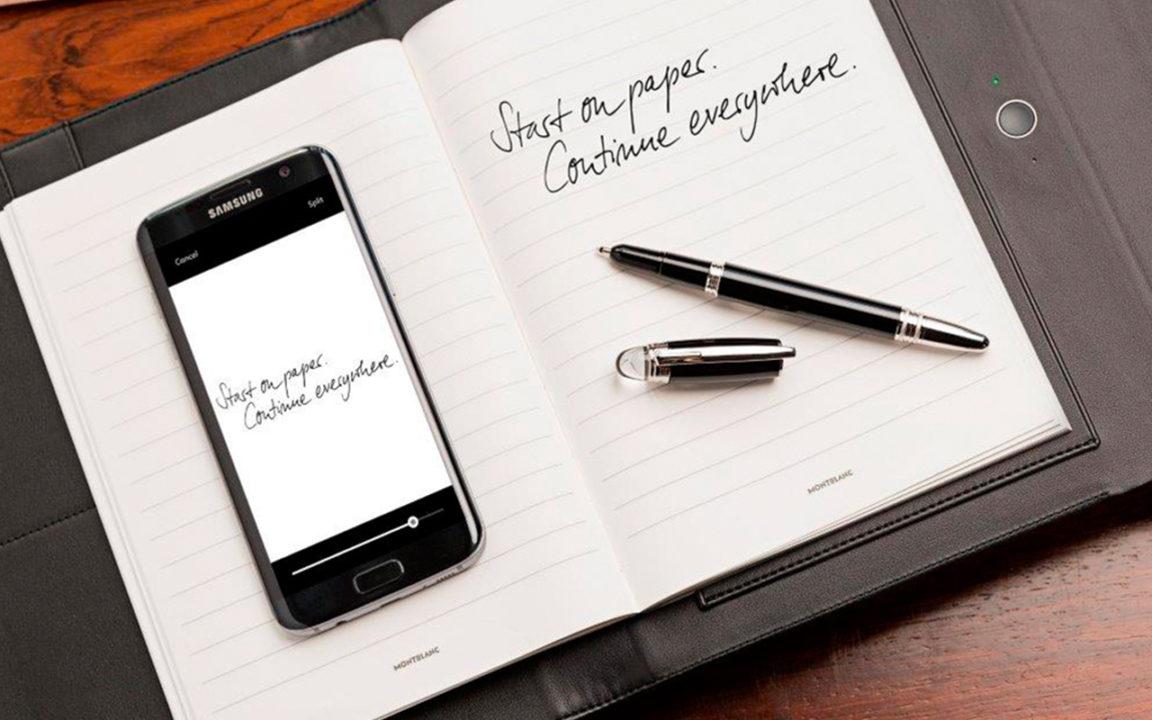 Montblanc entra al mundo digital con Augmented Paper