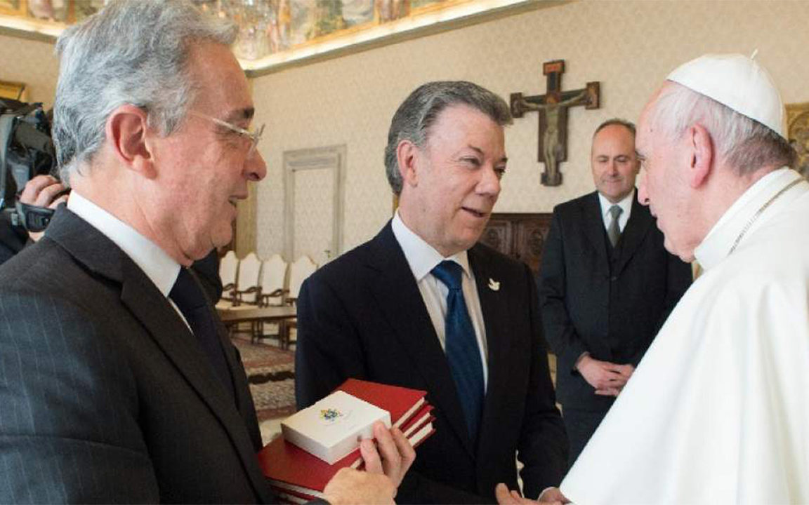 Pese a intervención del papa Francisco, la paz sigue estancada en Colombia