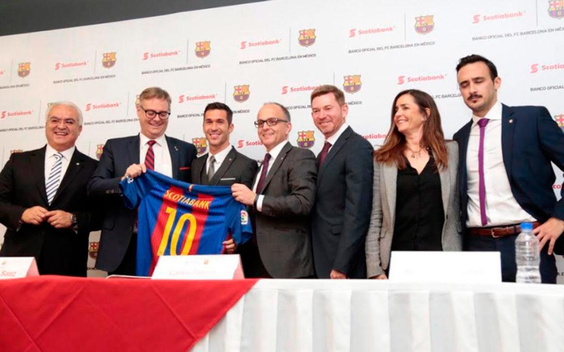 Scotiabank será el banco oficial del Barcelona en Latam y el Caribe