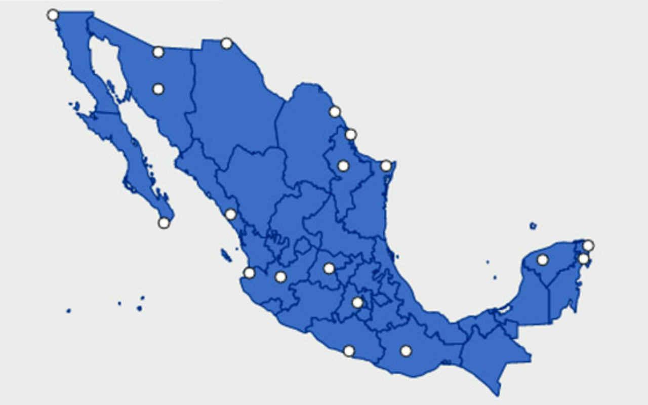 Éstos son los estados de México más peligrosos para EU