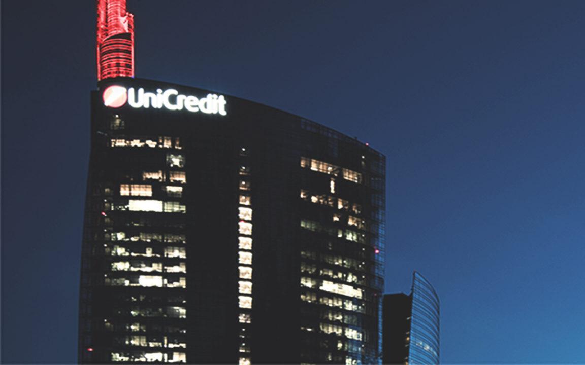 El italiano Unicredit se recapitalizará por 13,000 millones de euros