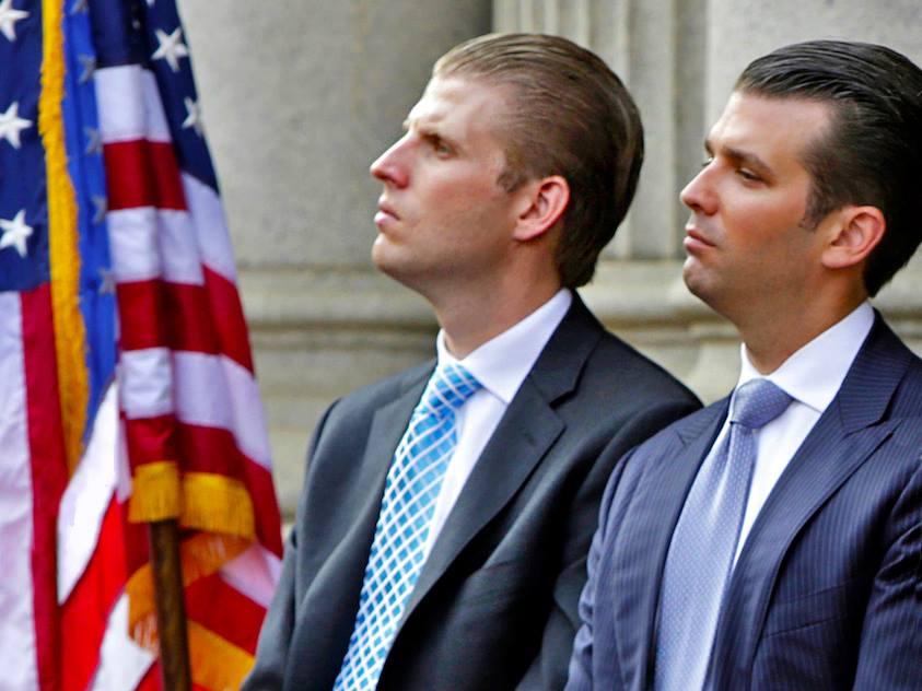 Conoce a los hijos de Trump que reinarán sobre el imperio del multimillonario
