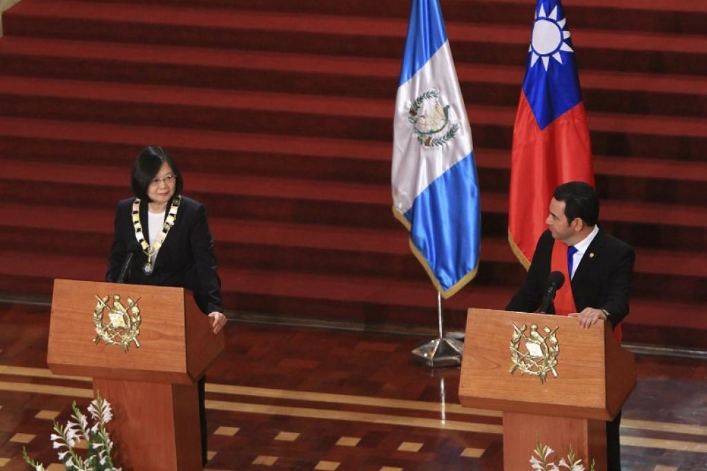 Agenda de cooperación será eje de relación entre Taiwán y Guatemala