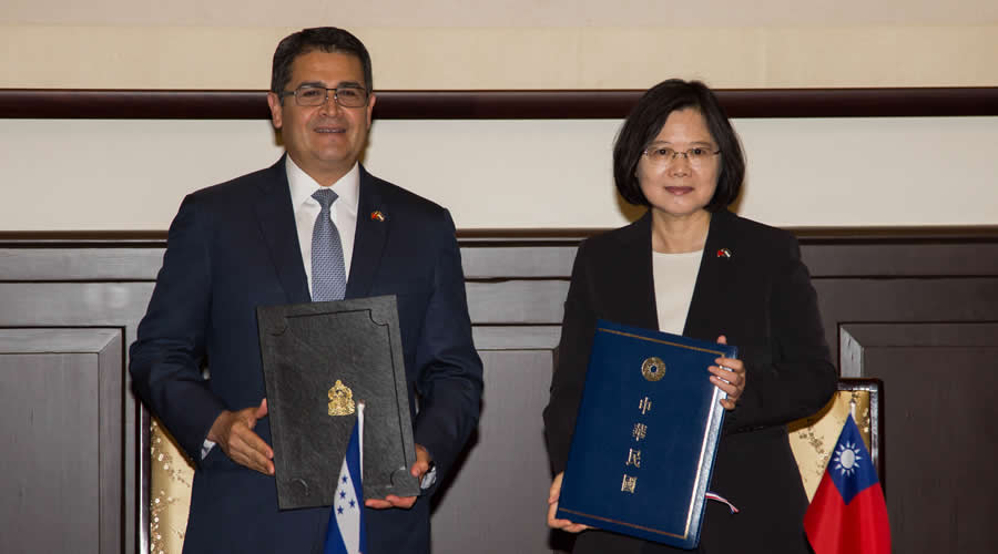 Taiwán tiene en la mira a Centroamérica