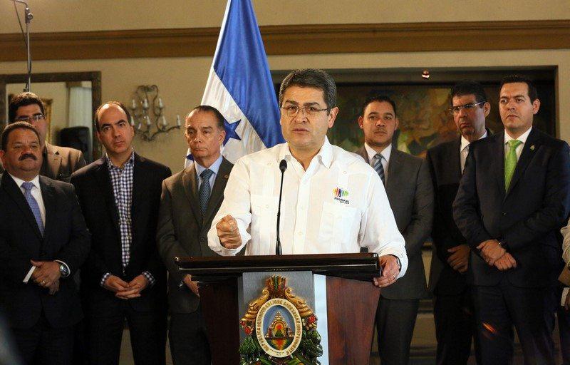 Exclusiva | Trump no pondrá en riesgo al Triángulo Norte: presidente de Honduras