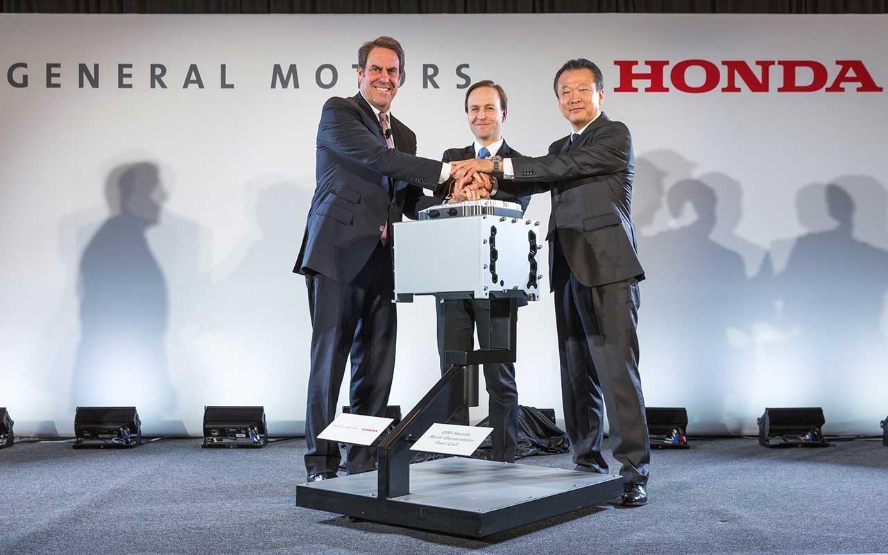 Honda y GM desarrollarán celdas de combustible con 85 mdd