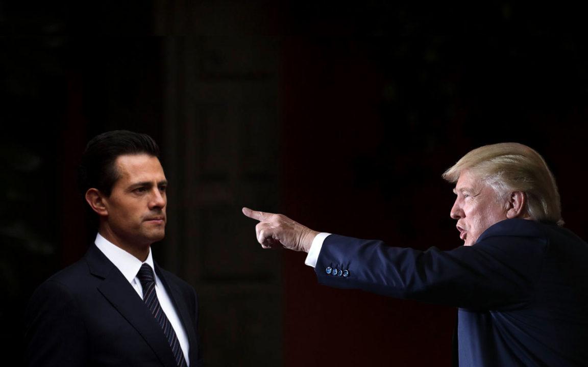 La débil frontera con México debe cambiar ¡ahora!: Trump
