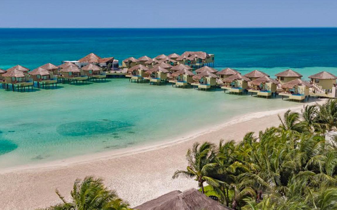 llega el primer concepto de hotel sobre el mar a m xico On hoteles bungalows sobre el mar