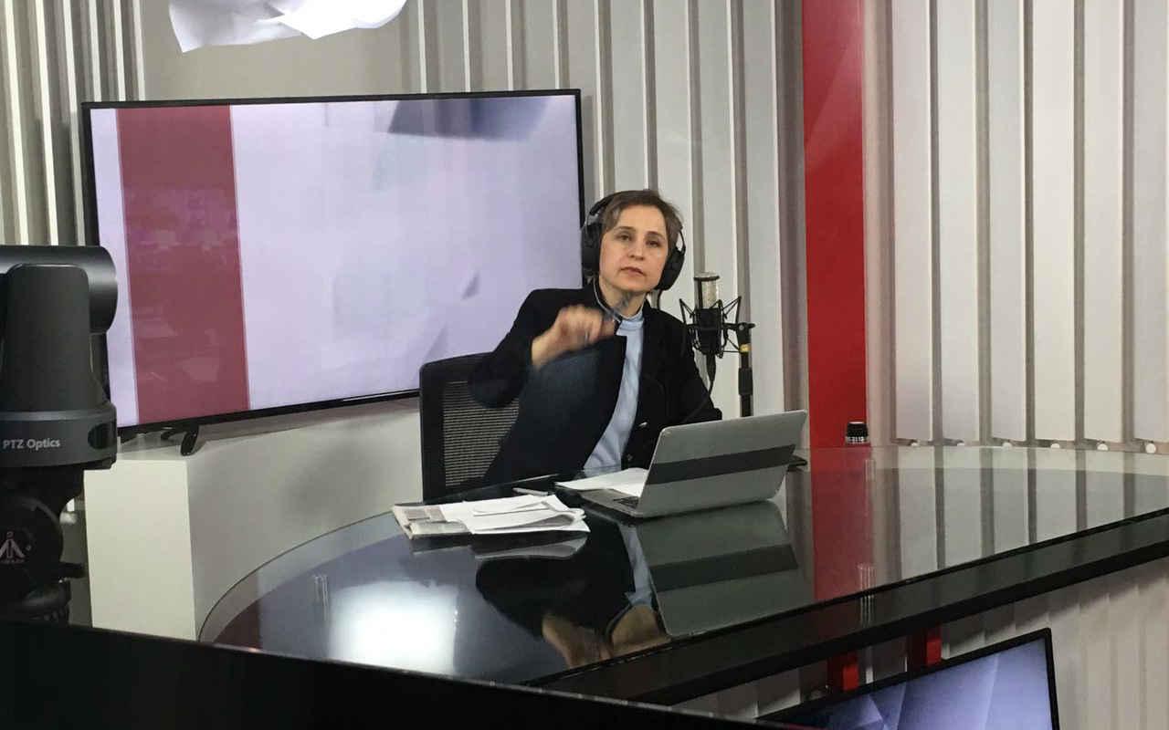 Carmen Aristegui regresa a la radio; 'ganamos todos', afirma AMLO