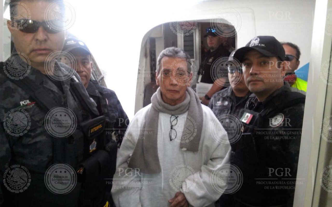 Mario Villanueva es entregado por autoridades de EU a México