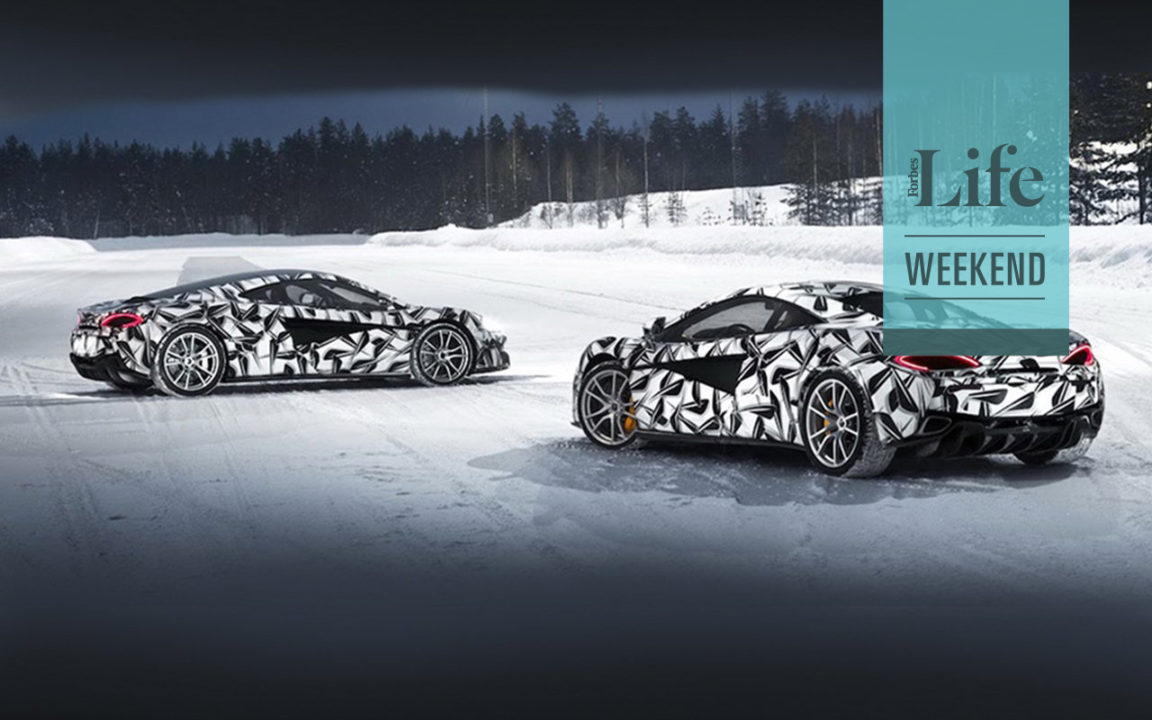 La experiencia de manejar un McLaren en el Ártico