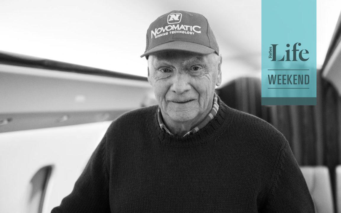 """Niki Lauda: """"No soy una leyenda"""""""
